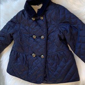 Gap  3 toddler pleated pea coat